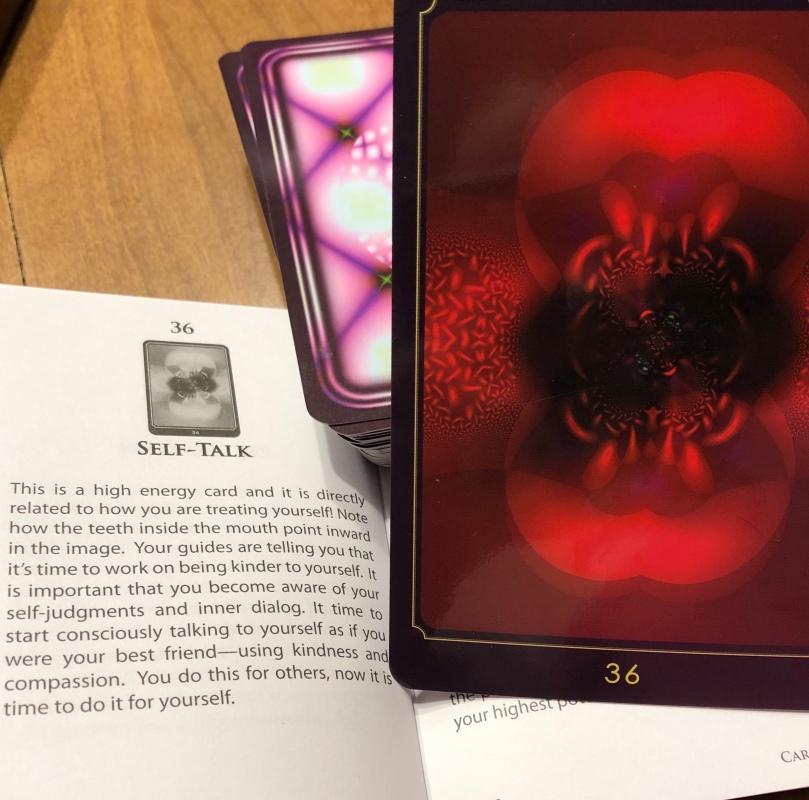 #36 Self Talk, Divine Guidance Oracle Deck by Cheryl Lee Harnish